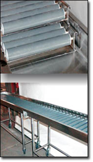 Plastisol Coated Conveyor Rollers